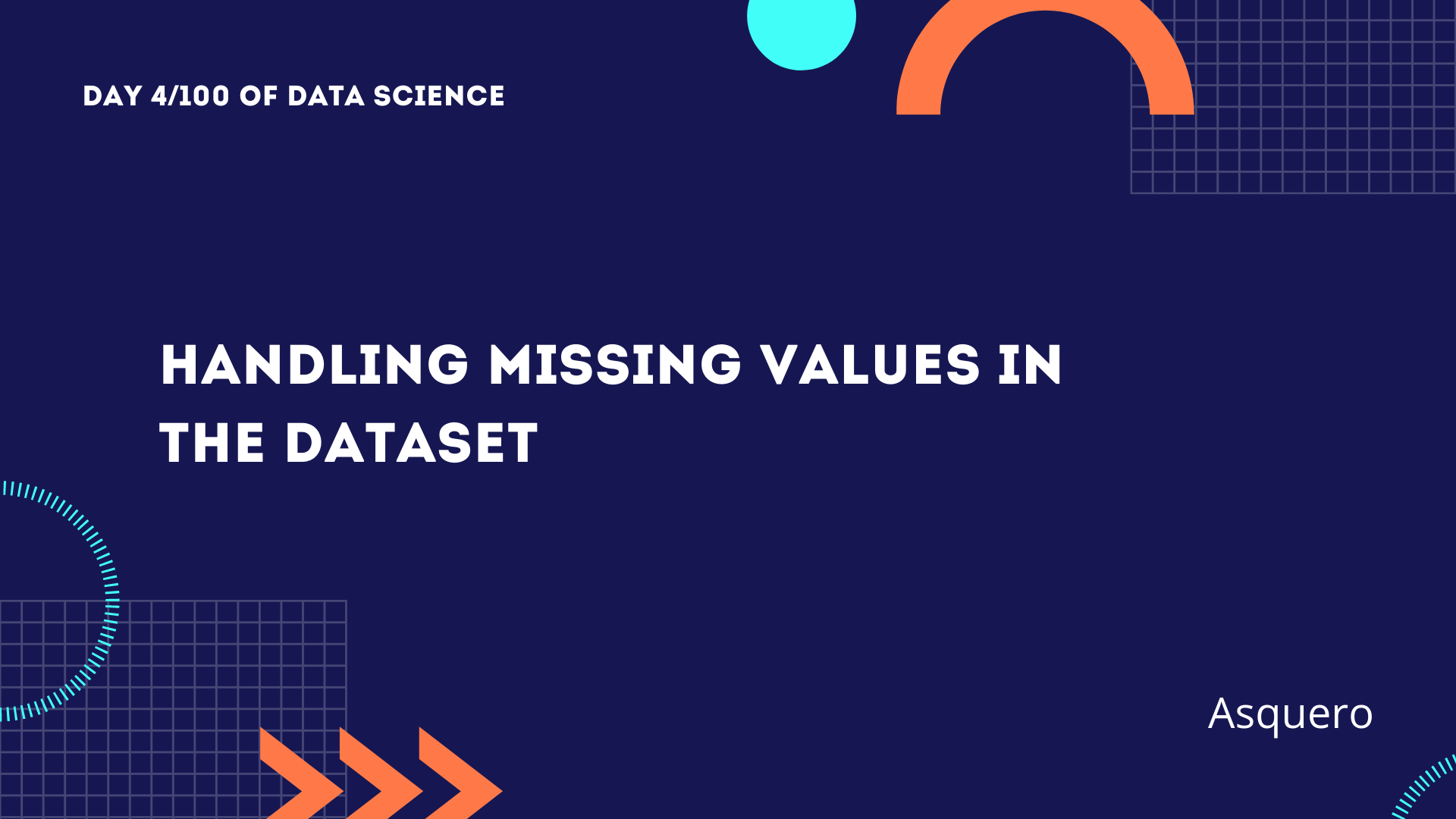 Handling missing values in the dataset