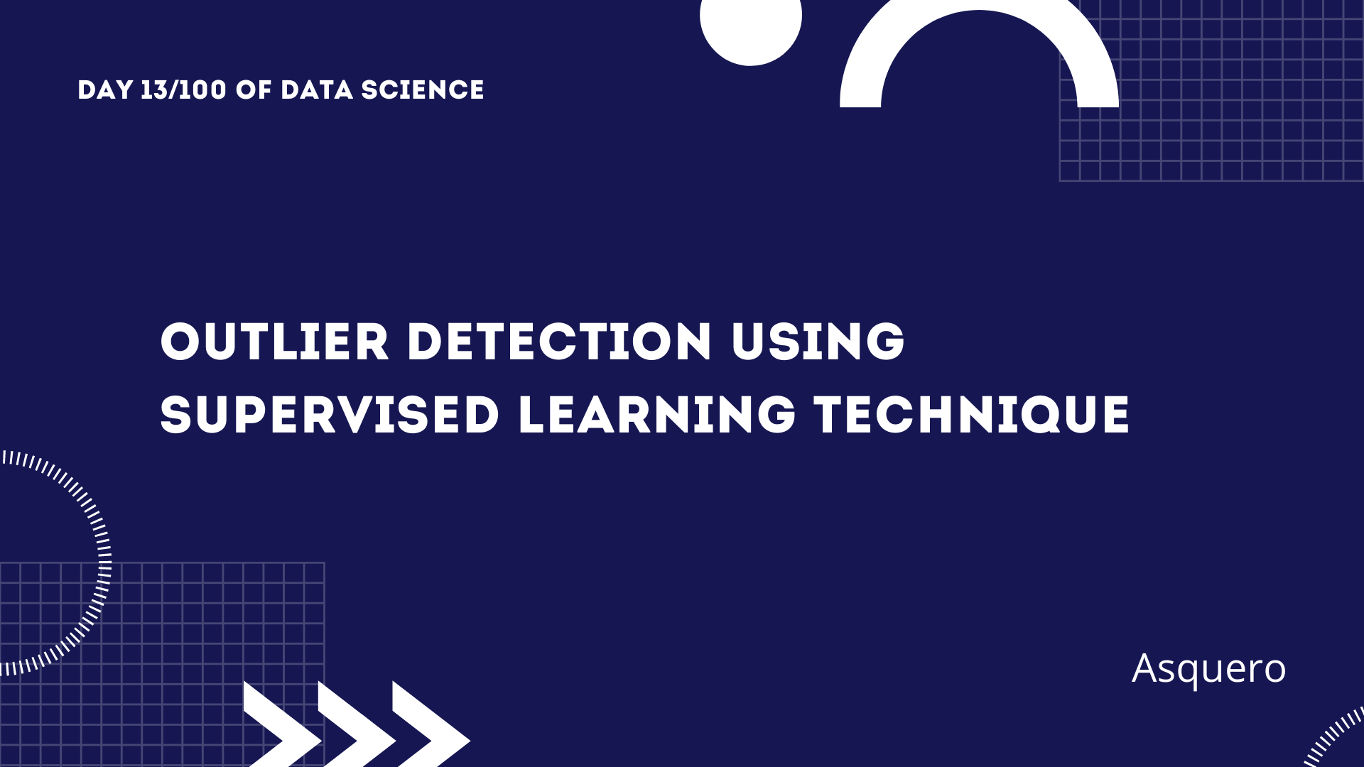Outlier Detection using Supervised Learning Technique