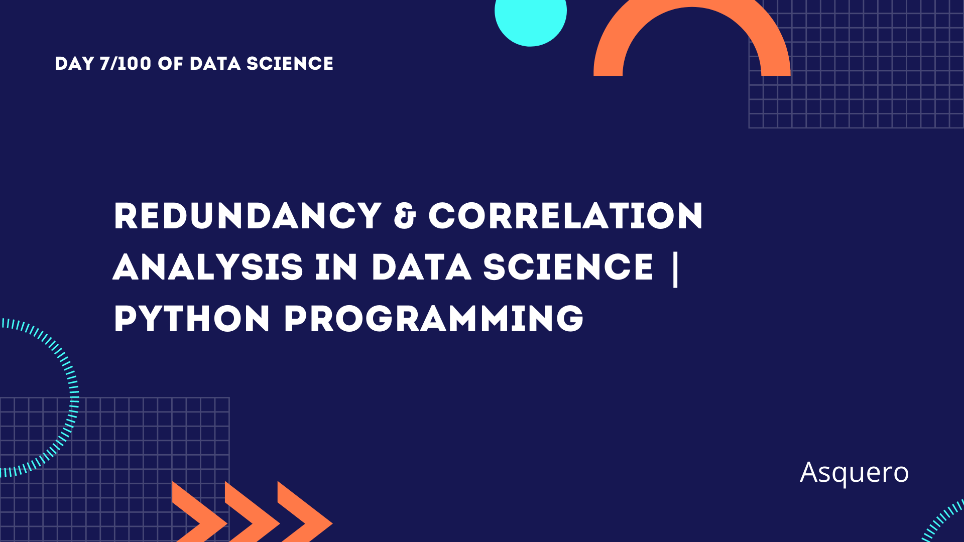 Redundancy & Correlation Analysis in Data Science | Python Programming