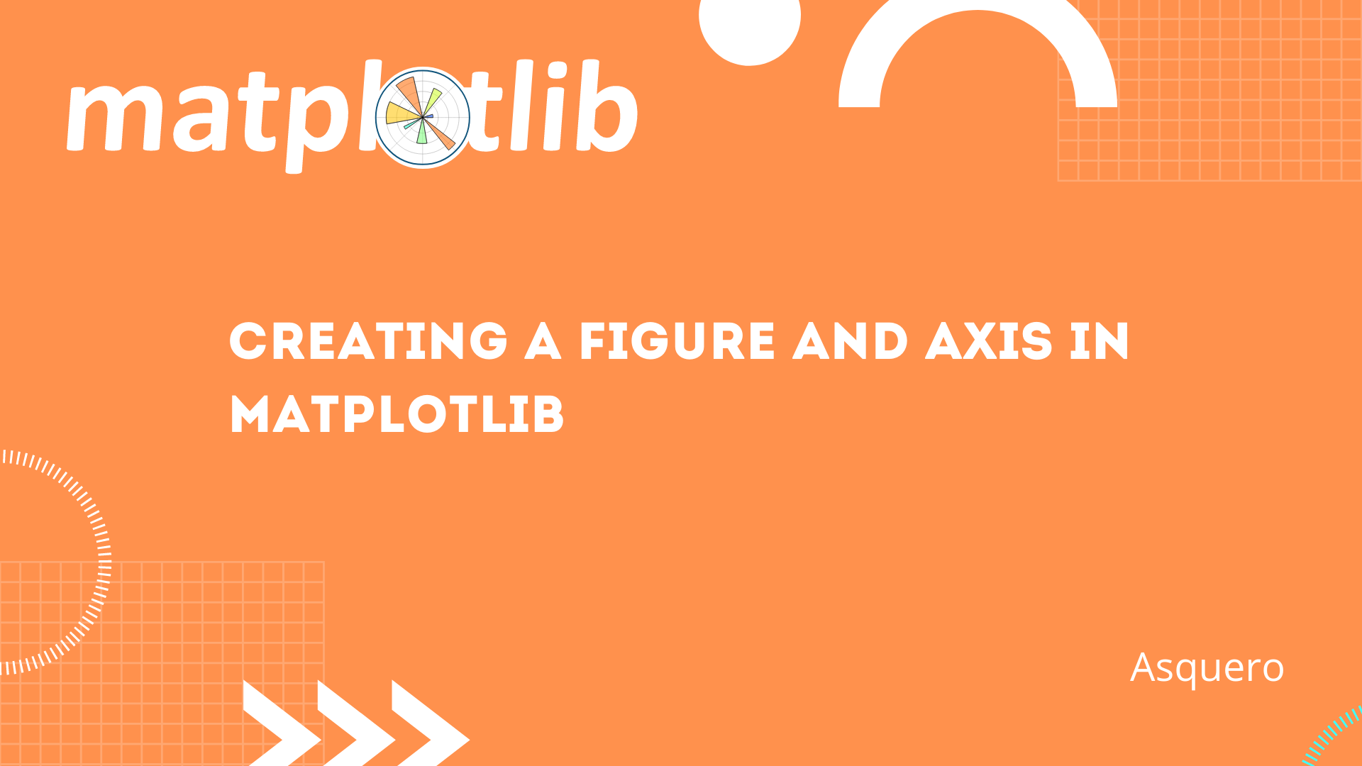 Creating a figure and axis in Matplotlib