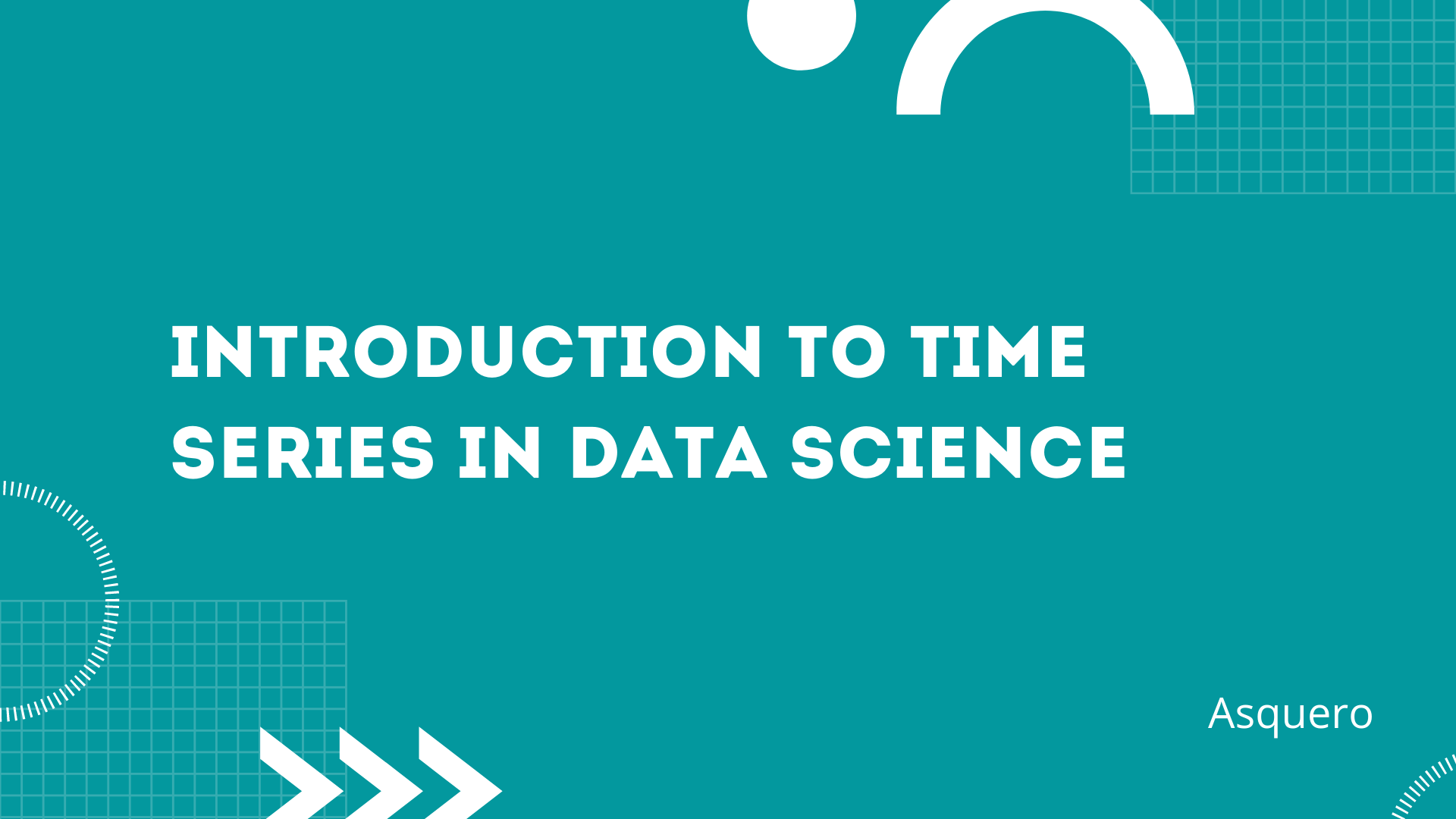 Introduction to Time Series in Data Science