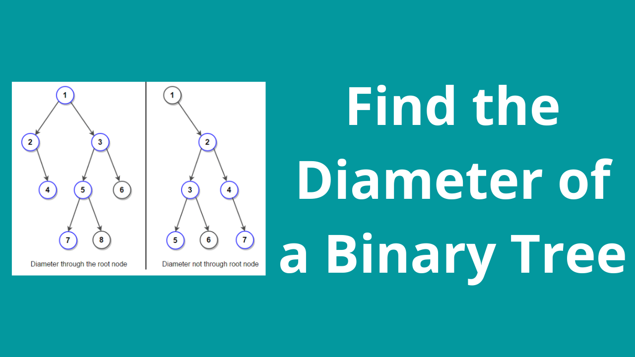 Find the Diameter of a Binary Tree