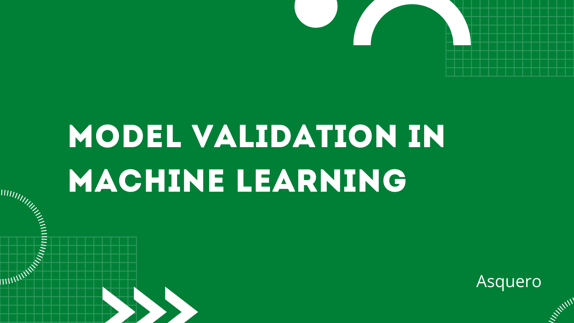 Basic Model Validation in Machine Learning