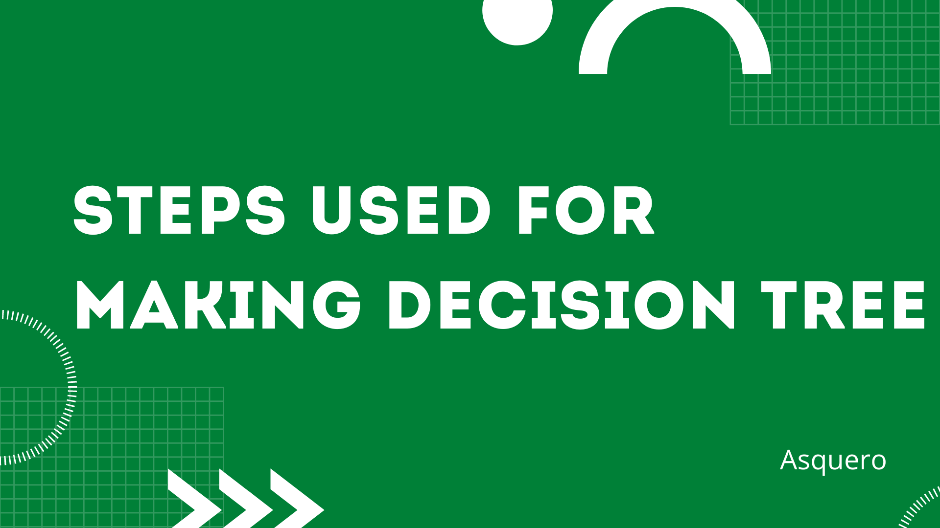Steps used for making Decision Tree