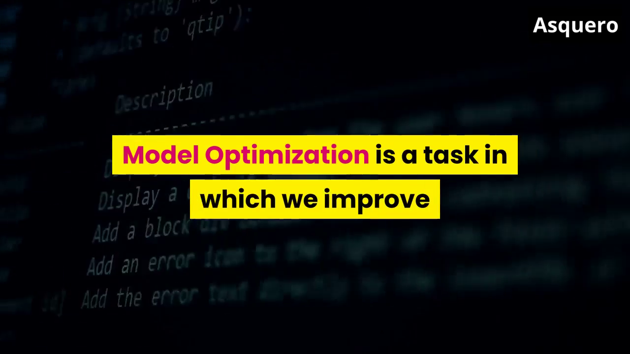 Model Optimization in Machine Learning